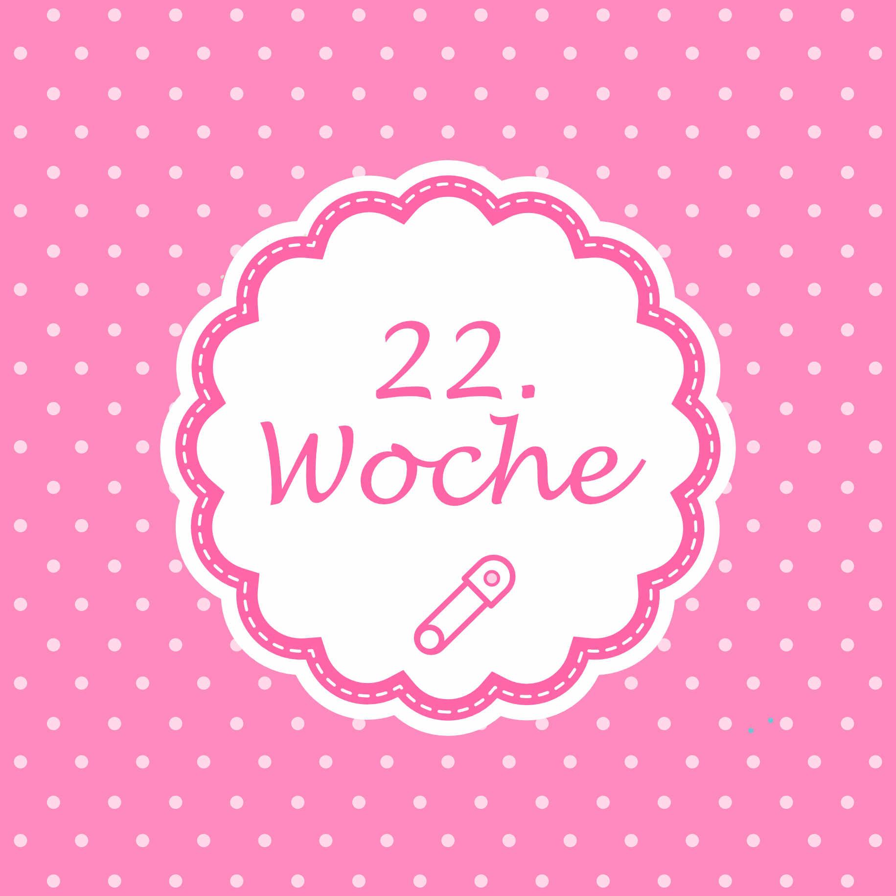 22. Woche Meilenstein Schwangerschaft Instagram