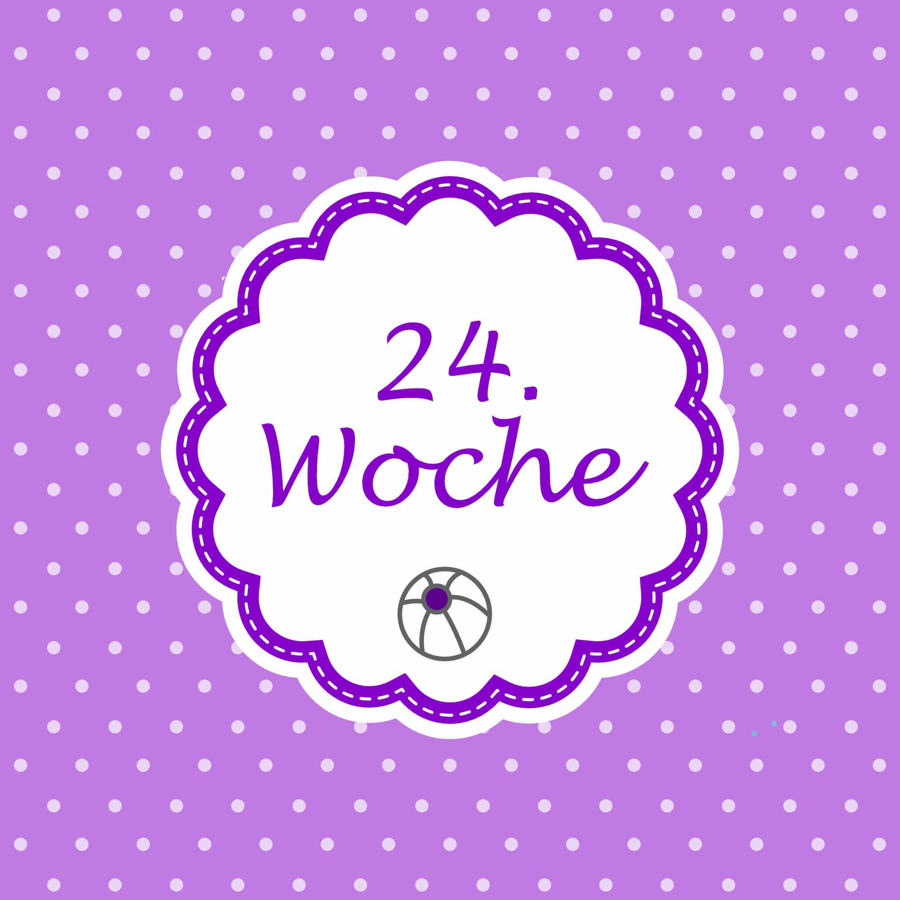 24. Woche Meilenstein Schwangerschaft Instagram