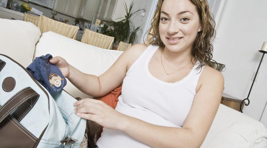 Kliniktasche Geburt packen